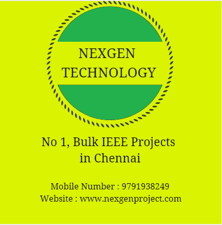 Ieee projects in pondicherry,ieee projects in pondicherry