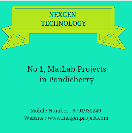 MatLab Projects in Pondy