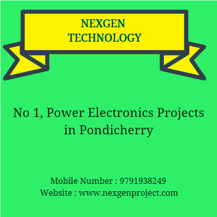 power projects in pondicherry